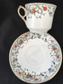Gladstone China coffee cup & saucer with side plate